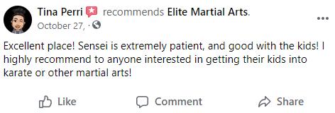 Kids2, Elite Martial Arts Romeo MI